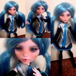Miku Hatsune - monster high custom