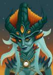 Queen Azshara by creaturecreationUK