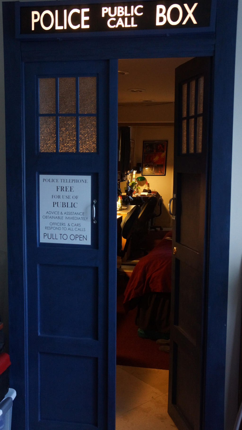 tardis bedroom door by thedaleofthedead on deviantart a titan eated my mom turned my sister s bedroom door
