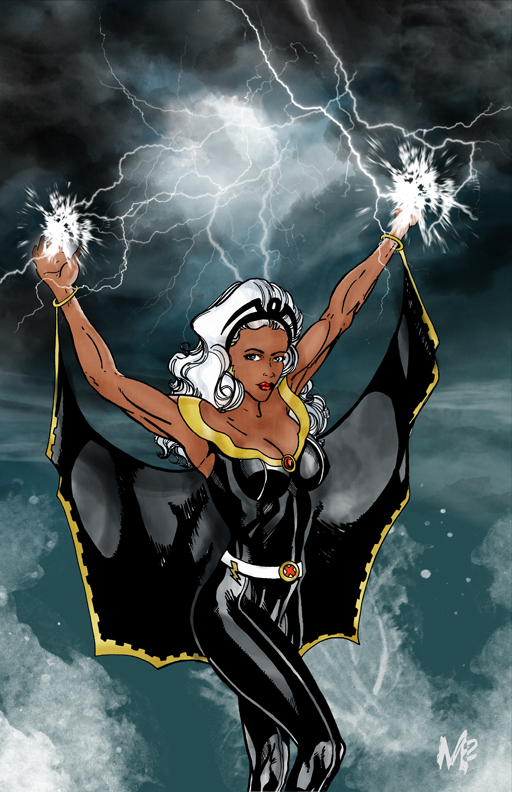 Storm from X-Men by mmunshaw