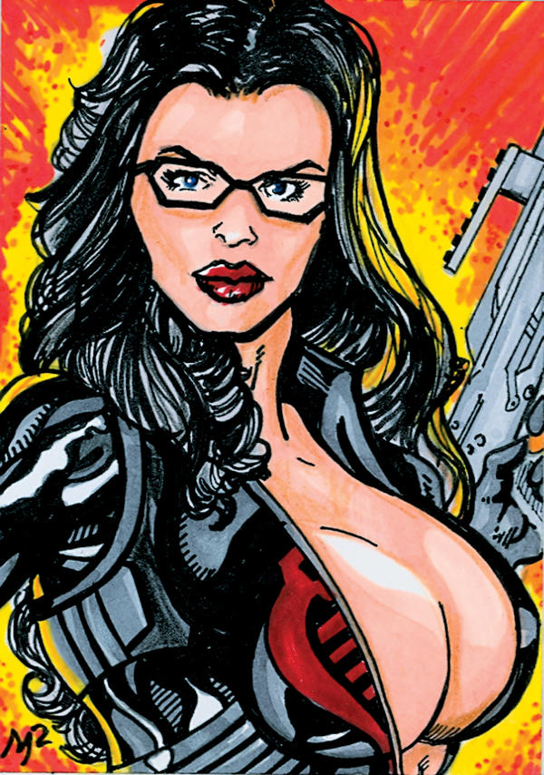 Baroness Sketch Card by mmunshaw