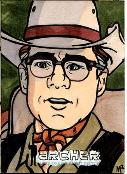 Archer AE Sketch Card #3