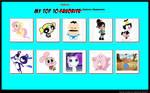 My Top 10 Cutest Cartoon Characters