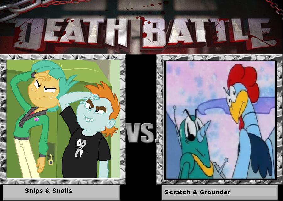Death Battle 2 by TheCrappyMSPainter23