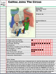 Animated Atrocities: Caillou Joins The Circus
