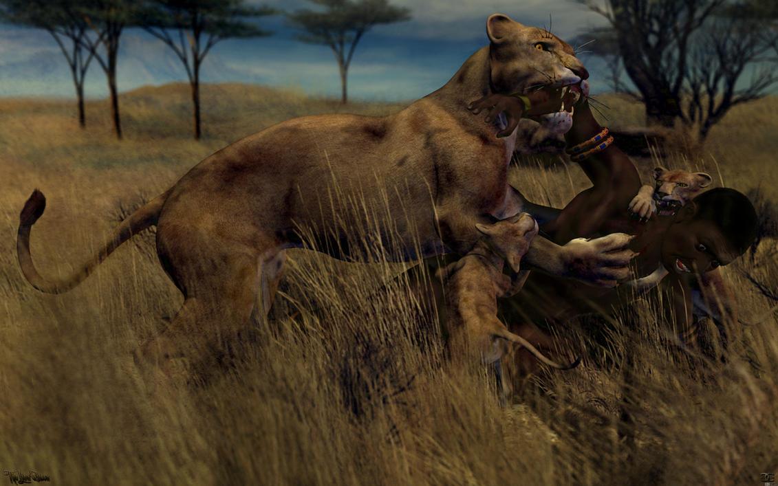 The Lion Queen - 16:10 by ancestorsrelic