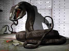 Tetradactylus 3D by ancestorsrelic