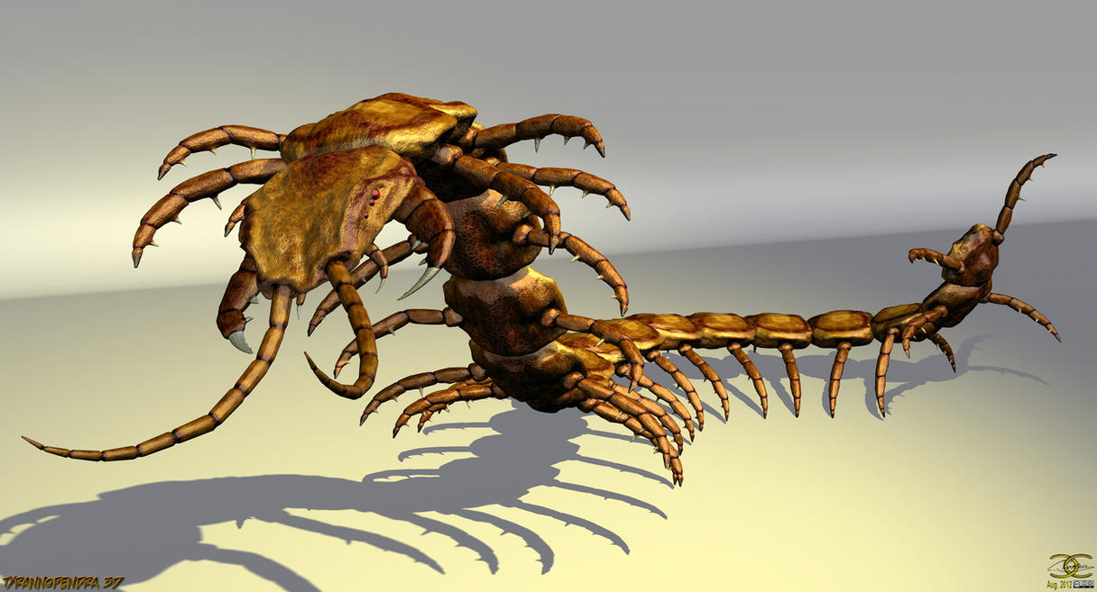 Tyrannopendra 3D by ancestorsrelic