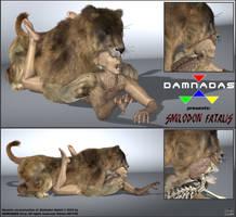 DAMNADAS - Smilodon fatalis by ancestorsrelic