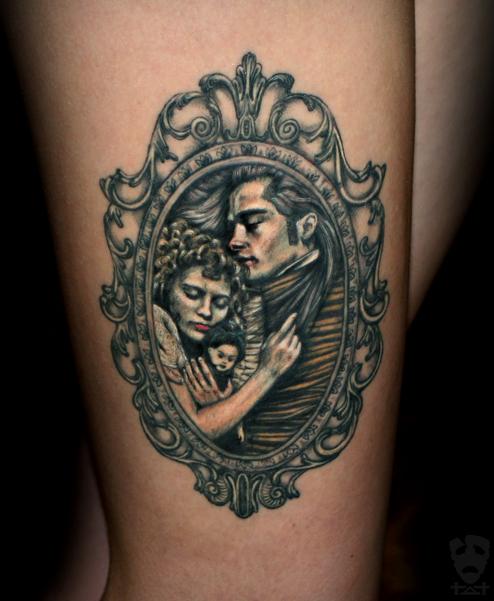 Interview With The Vampire Tattoo By Tvia-Dark On DeviantArt