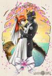 Wedding Portait (Ryusei-Lupi auction commission)