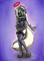 Commission for Asphyxia by A-BlueDeer
