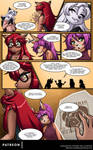 Moonlace The Hermit Page 2 by A-BlueDeer