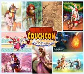 Wallscroll Designs at CouchCon