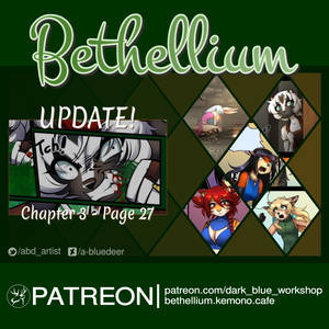 Bethellium Chapter 3 Page 27 on Patreon