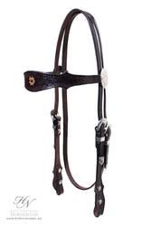 Western Haflinger bridle
