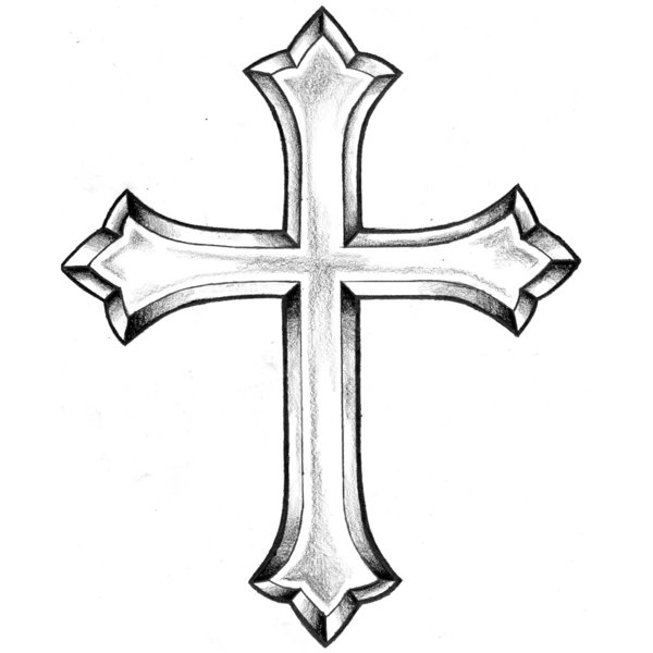 Tattoo cross one part of Cross