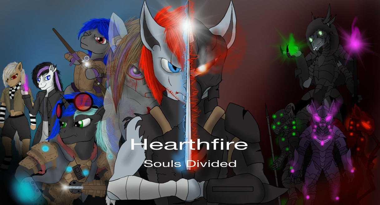 Hearthfire Souls Divided (COVER ART) by predman1227