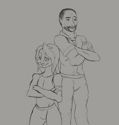 Sil and her Uncle