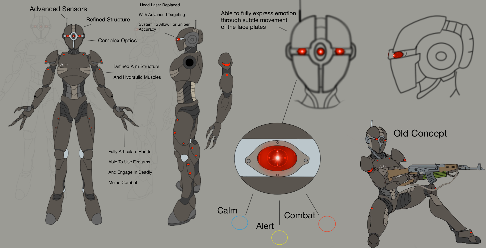Assaultron Commando- Mod Concept by predman1227 on DeviantArt