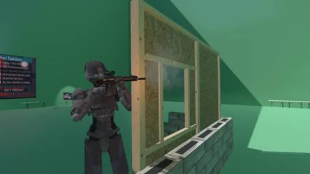 Vrchat: At the range