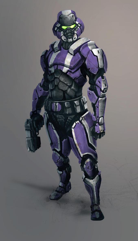 Hordemaster Grunt concept by vkucukemre