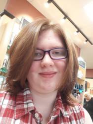 A new haircut~