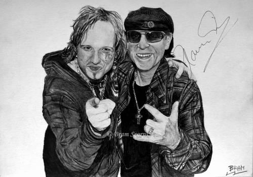 Tobias Sammet (Avantasia)  Klaus Meine (Scorpions