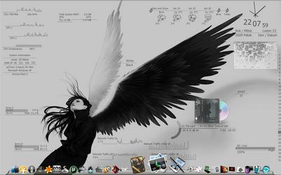 Love my desktop 20. HUD.Vision by mepu