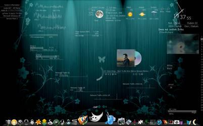 Love my desktop 21. HUD.Vision by mepu