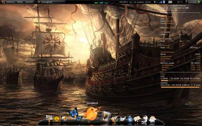 Screenshot on17.5.09 my Ubuntu by mepu