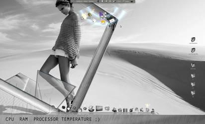 My Futured desktop by mepu