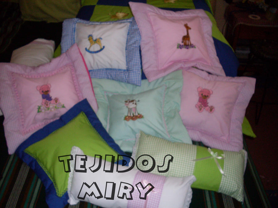 Cojines para bebes by tejidosdina on deviantart - Cojines para bebes ...
