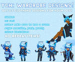 OC WARDROBE DESIGNS!
