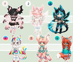 Cute Monster Gaia Adopts: CLOSED/all sold