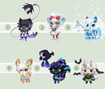 Mini Monsters Gaia Adopts: ALL SOLD