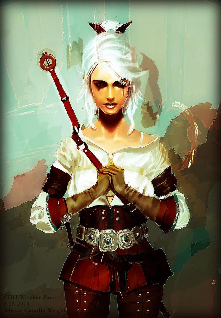Witcher Fanart by fromseatoshiningsea