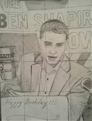 Ben Birthday Card by JesseVanSciver