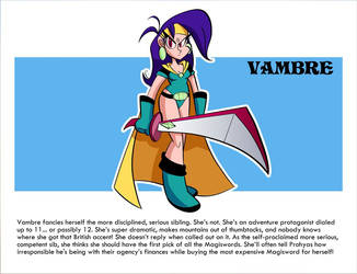 Mighty Magiswords project vambre by MegaJvictor123