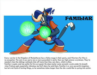 Mighty Magiswords Project Familiar by MegaJvictor123