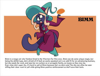Mighty Magiswords Project Bimm by MegaJvictor123
