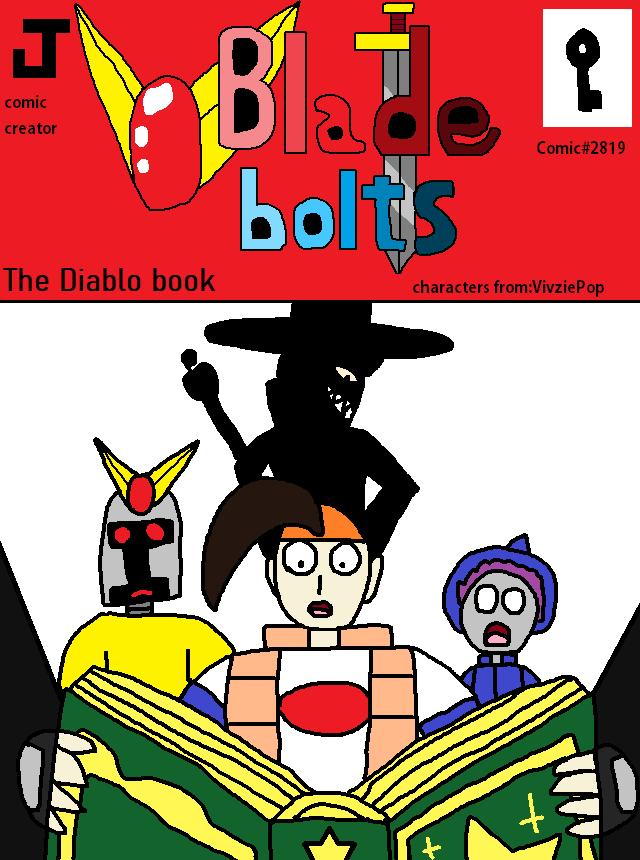 Blade bolts Comic The Diablo book