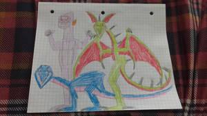 Batasaurus, Dinosaur and a Gorilla 2