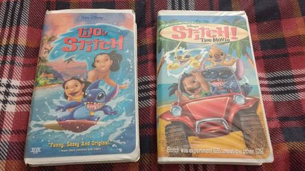 Lilo and Stitch and Stitch the movie vhs