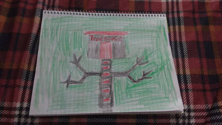 Black and Red treehouse