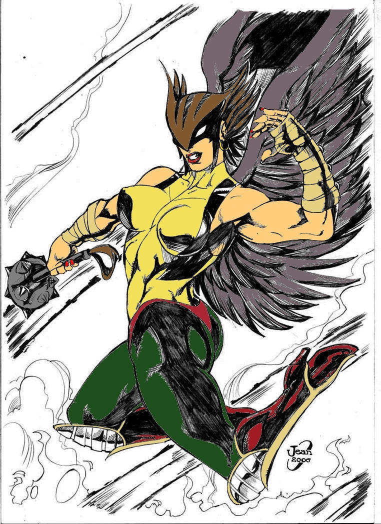 Hawkgirl by Dairugger