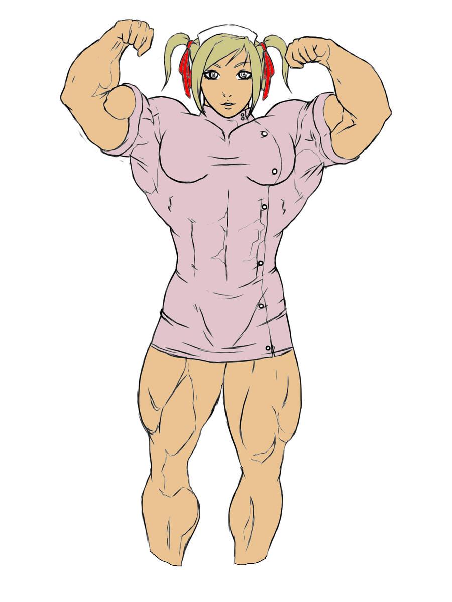 Muscle Nurse by Dairugger