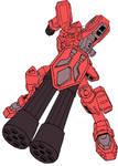 Gundam Heavyarms Kai (Zanscare Empire)