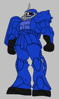 Cobra Commander's Zaku by Dairugger