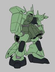 AMX-011 Zaku III by Dairugger